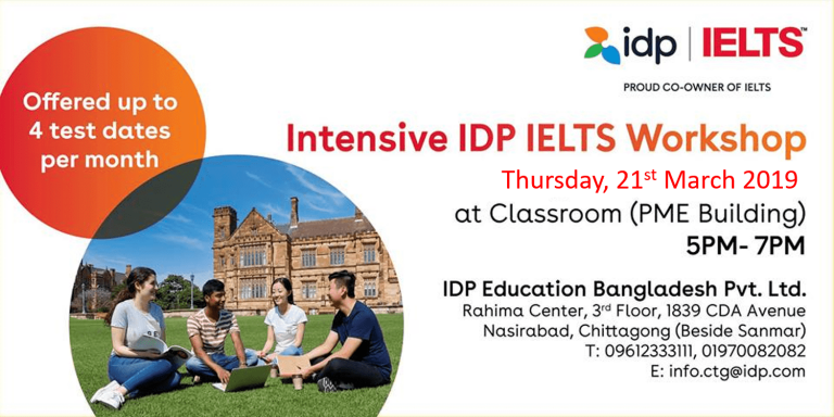 IDP'S IELTS Workshop